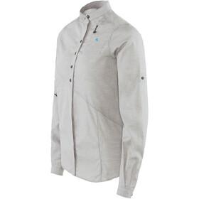 Klättermusen W's Lofn Shirt Grey Melange